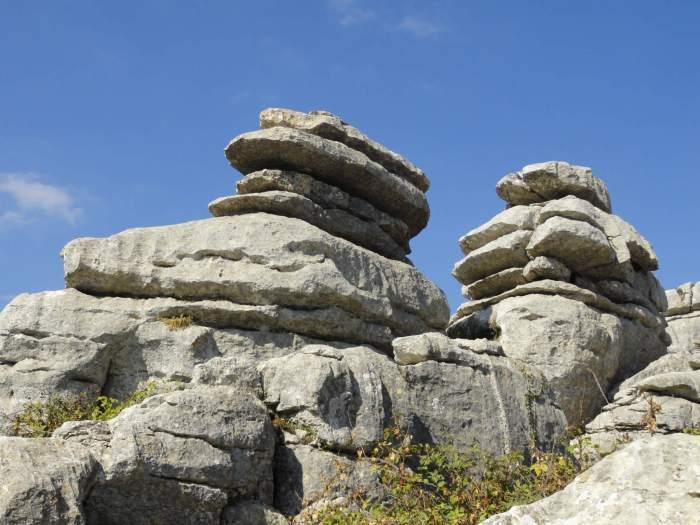 Grillige rotsformatie in het Spaanse Antequera