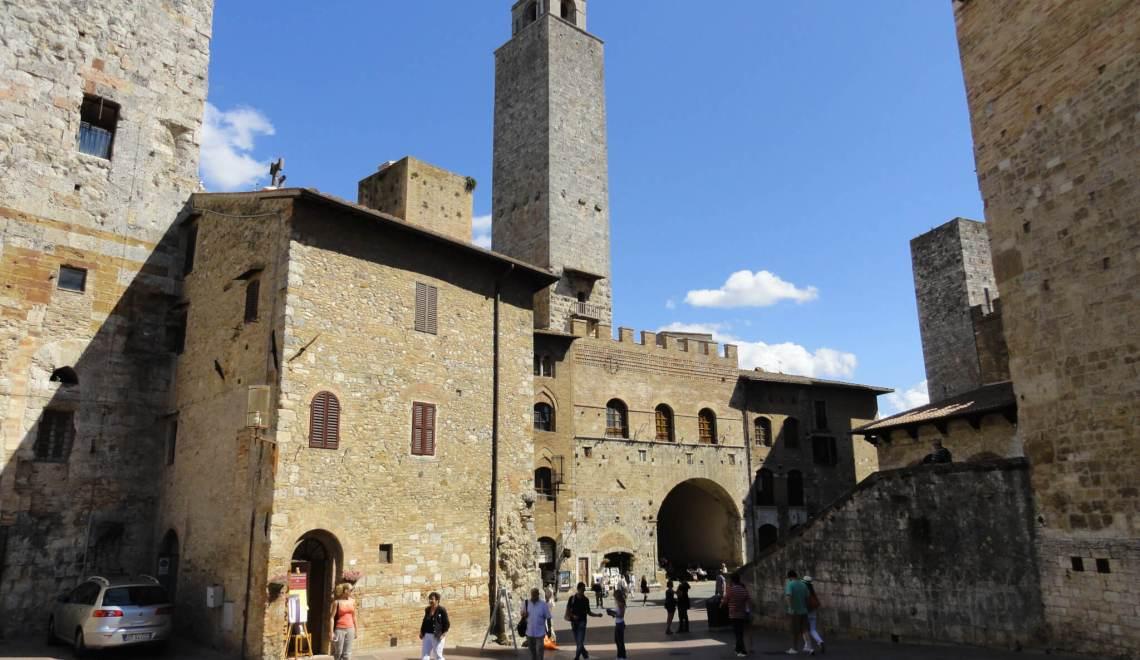 Stadsgezicht San Gimignano