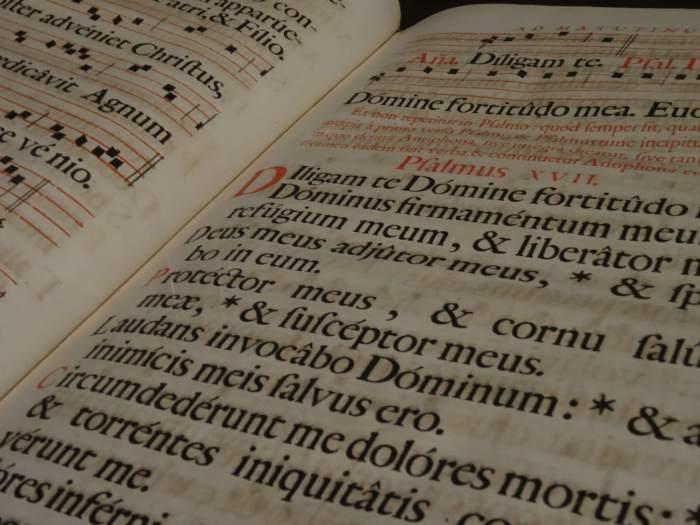 Latijnse tekst in oud geschrift, een wat oudere blogpost om het eens zo te zeggen