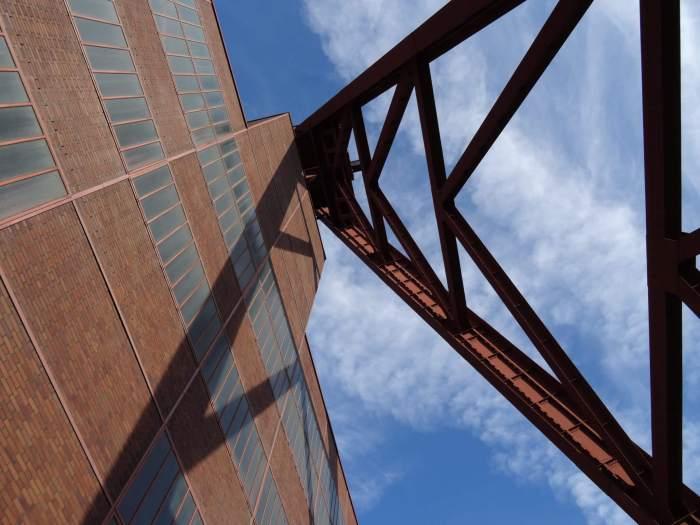 Een combinatie van Bauhaus en zware industrie in Zollverein