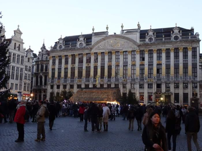 Huis der hertogen op Grote Markt Brussel