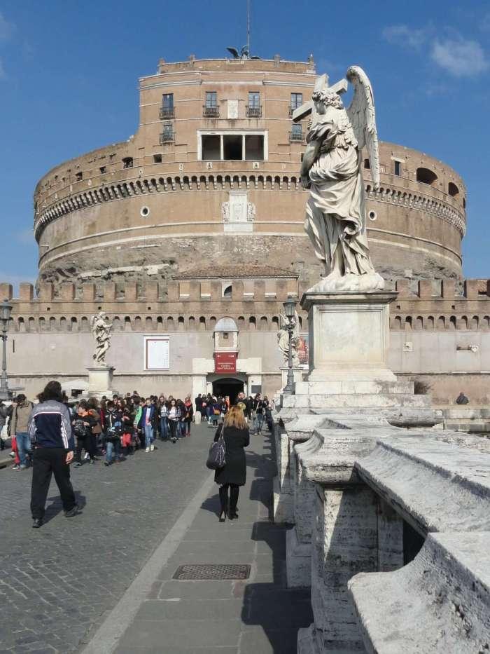 Castel Sant Angelo, de engelenburcht in Rome