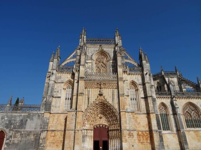 Voorzijde klooster Batalha