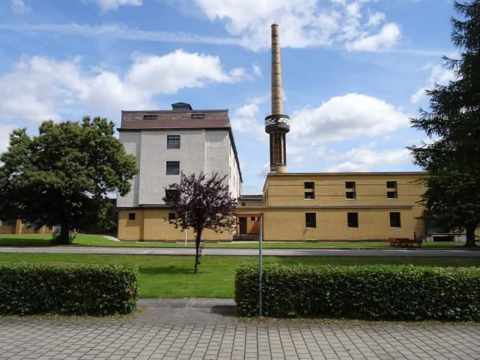 Verschillende facades van de Fagusfabriek