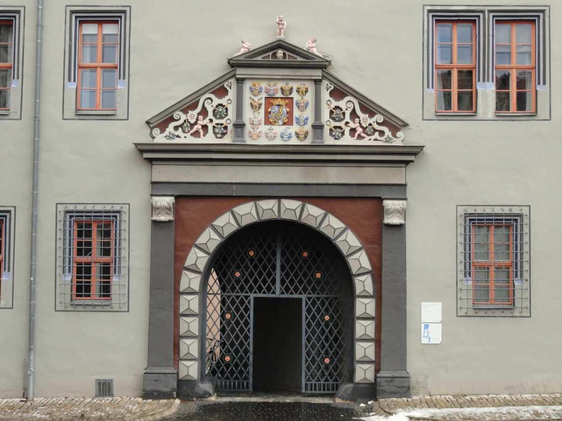 Poort in Weimar