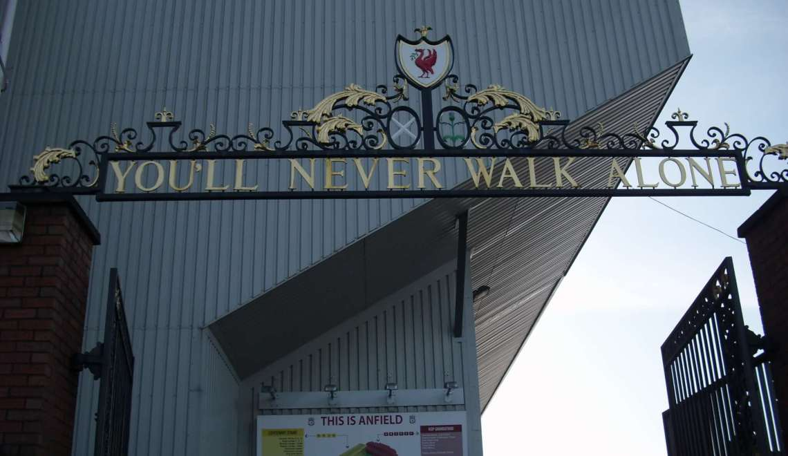 """Liverpool, de """"Singing City"""" waar je nooit alleen loopt"""