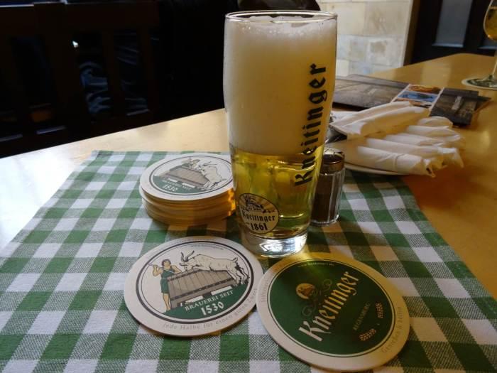 Kneitiner bier in Regensburg