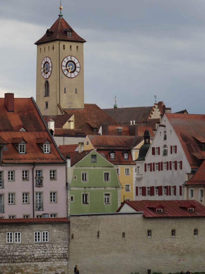 Stadsgezicht Regensburg