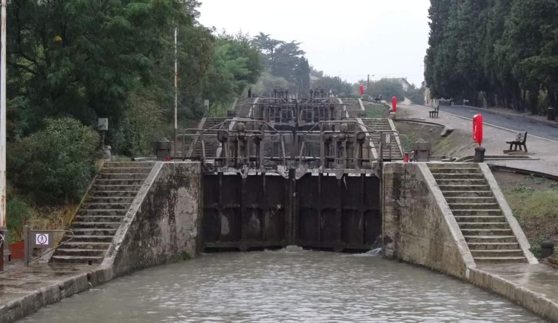 Op het Canal du Midi laten vernuftige waterwerken iedereen sprakeloos