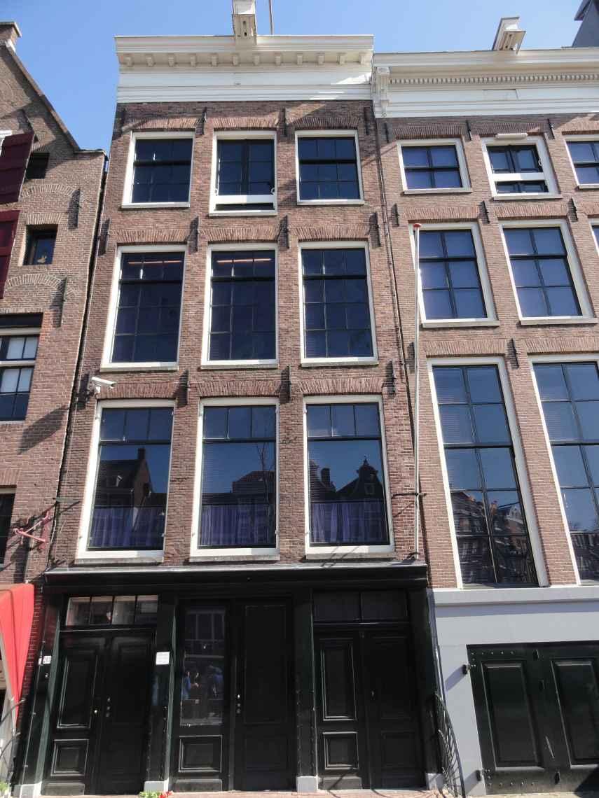 Voorgevel van het Achterhuis van Anne Frank