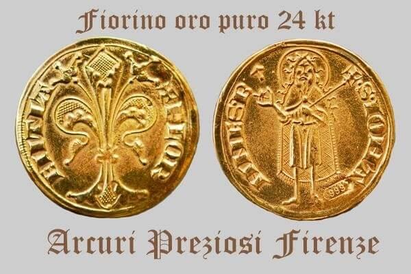 Gouden Florijn, met lelie en Johannes de Doper