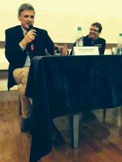 Jadran Lenarčič – Director of the Jožef Stefan Institute, Marjutka Hafner – Director Slovenia National Commission and Mitja Jermol the new Chairholder