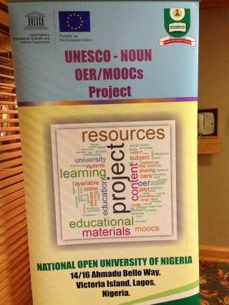 UNESCO - NOUN OER/MOOCs project