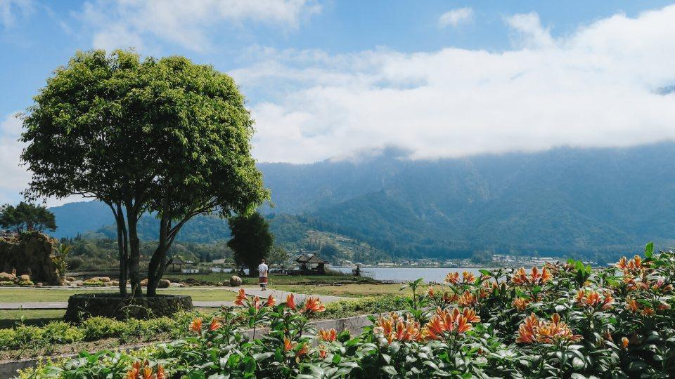 Les jardins du temple Pura Unlun Danu Bratan
