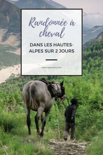 Randonnée à cheval dans les Hautes-Alpes
