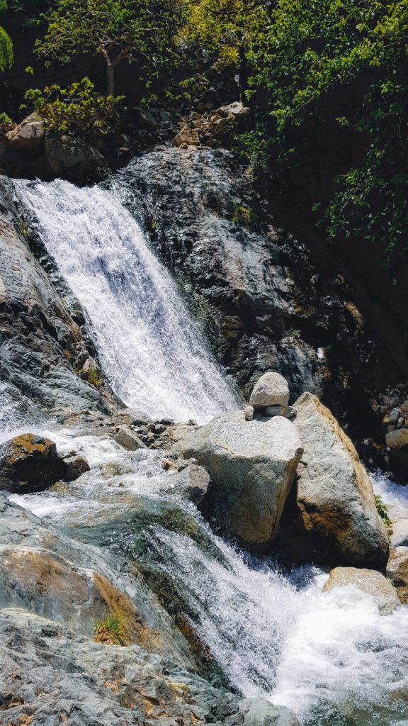 Cascade de la rivière Ourika, Maroc