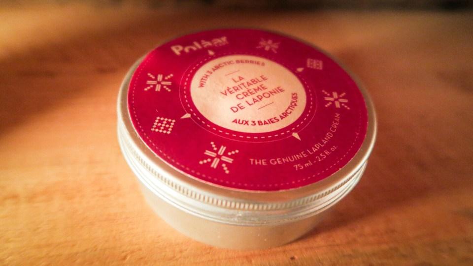 Pot de crème de Laponie pour le visage