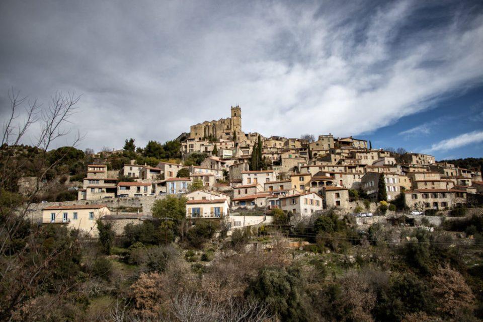 Village perché d'Eus, Pyrénées Orientales