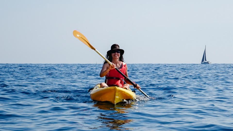 Sur l'eau en Kayak de mer aux Cinque Terre