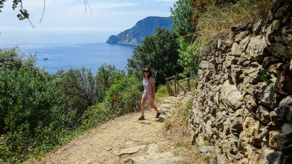 Sur le sentier de randonnée de Monterroso à Corniglia, Cinque Terre