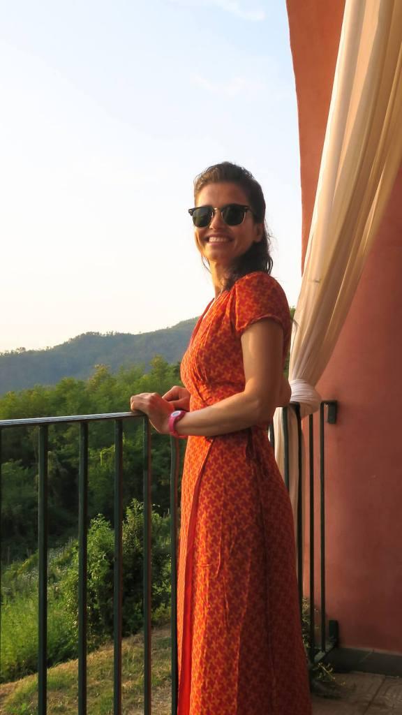 Sur la terrasse du domaine de Cerrolungo, Cinque Terre
