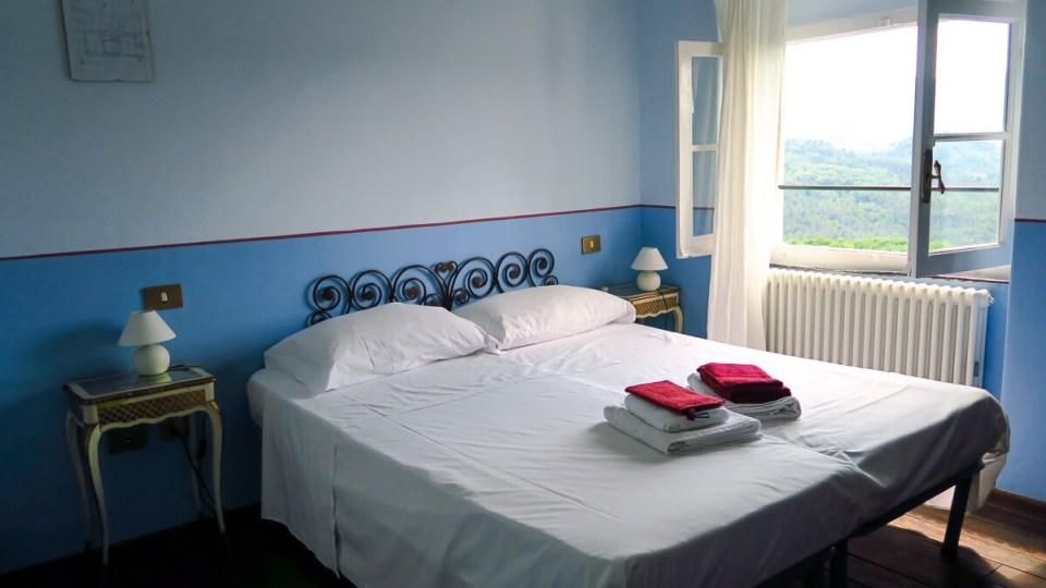 Chambre sobre et fraîche au domaine de Cerrolungo, Cinque Terre