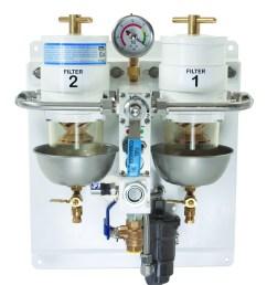 dual racor fuel filter from defender filterboss commander [ 2384 x 2740 Pixel ]
