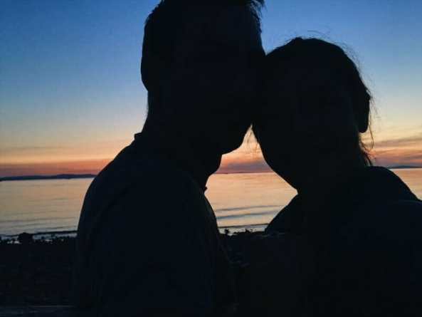 phil anya switzerland constance eurovelo sunset