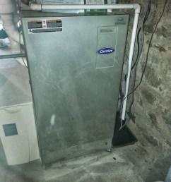 our carrier furnace in the deep dark basement  [ 1536 x 2048 Pixel ]