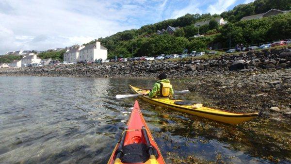 sea kayaking scotland mallaig