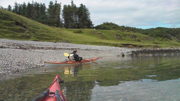 Launching Sea Kayak