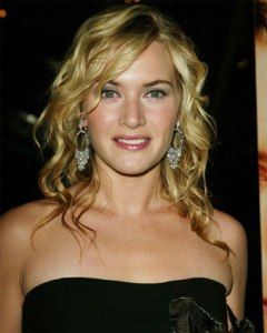 Kate Winslet glowing (humph!)