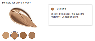 Sheer Skin Tint swatches