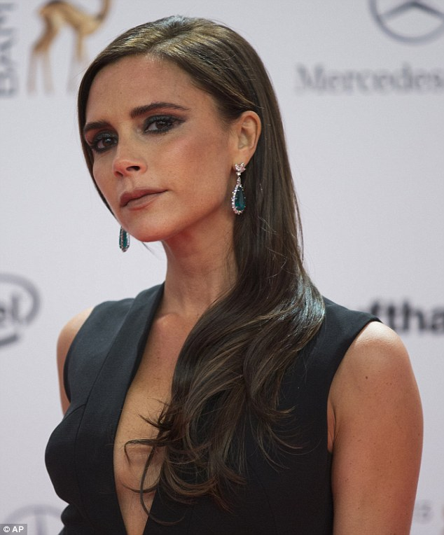 Victoria Beckham Eye Make up fail