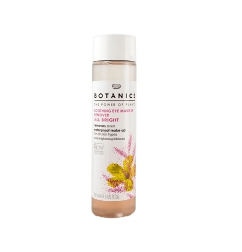 Boots Botanics All Bright Soothing Eye Make Up Remover