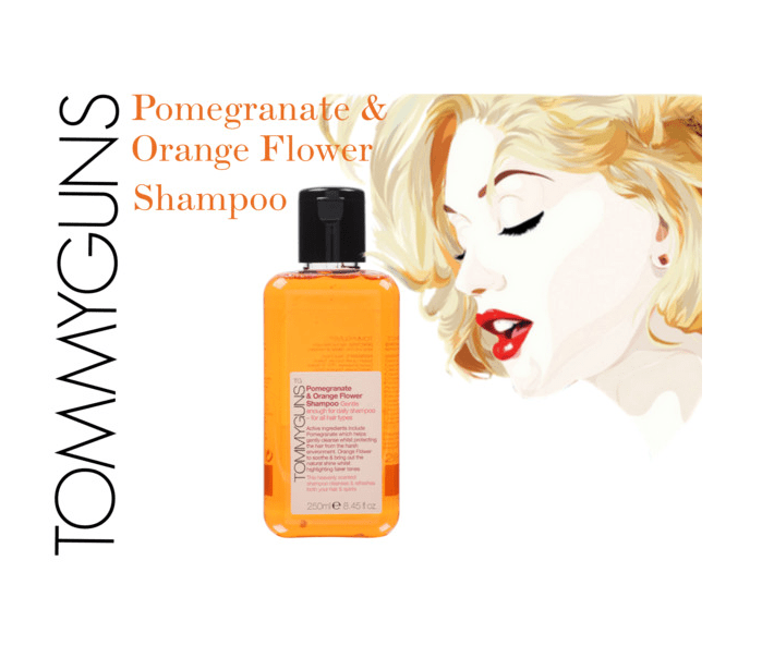 Tommyguns Pomegranate & Orange Flower Shampoo