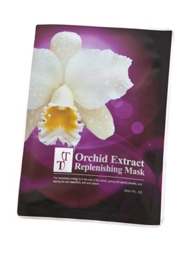 Orchid Extract Replenishing Facial Beauty Mask
