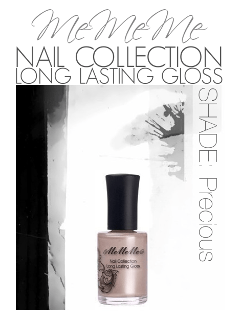 MeMeMe Nail Collection Long Lasting Gloss - Shade 'Precious'