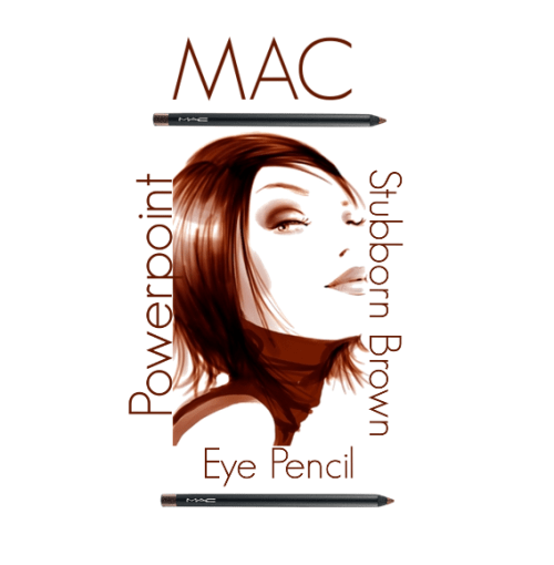 Mac Powerpoint Eye Pencil in Stubborn Brown