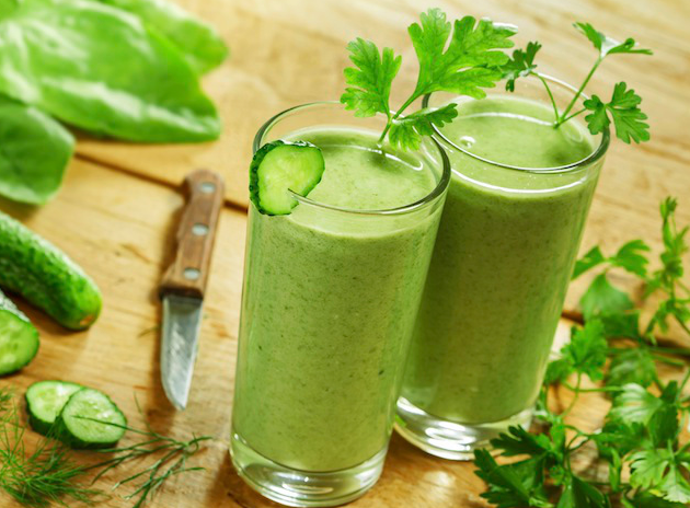 4 juice recipes for clearer skin
