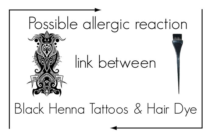 Henna Tattoo And Nut Allergy: 'Black' Henna Tattoos & Hair Dye