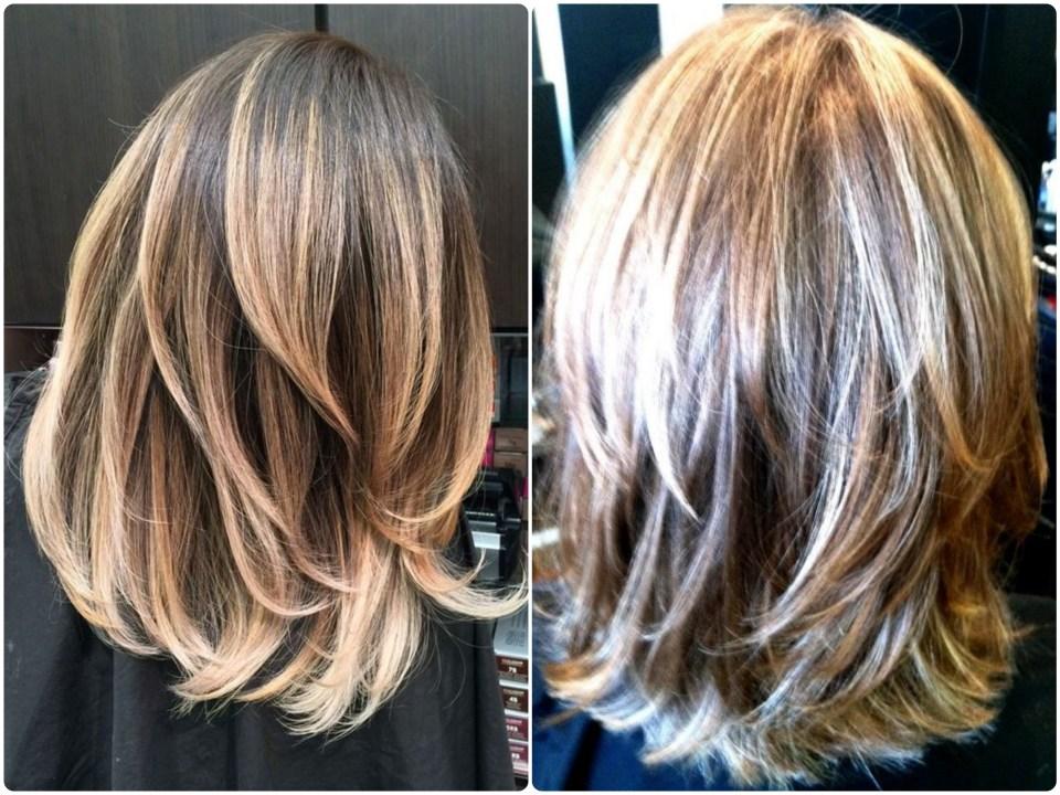 fave layered haircuts