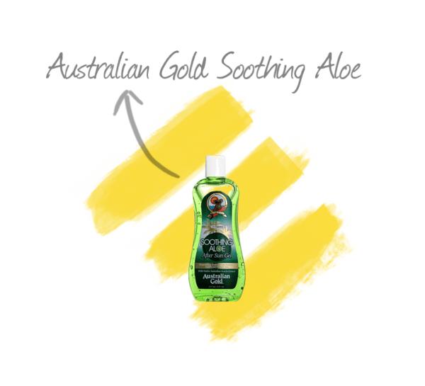AUSTRALIAN GOLD SOOTHING ALOE AFTER SUN GEL