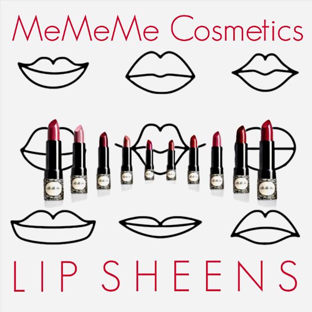 MeMeMe Cosmetics Lip Sheens