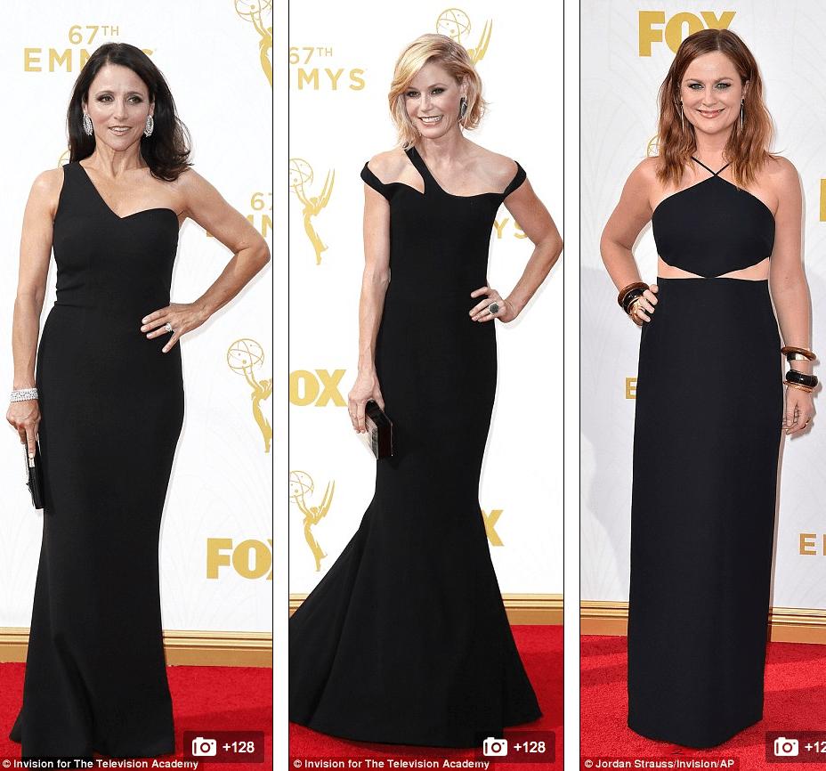 Julia Louis-Dreyfus, Julie Bowen and Amy Poehler