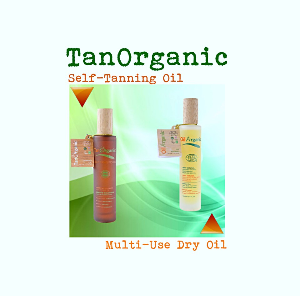 TAN ORGANIC CERTIFIED ORGANIC SELF TANNING OIL