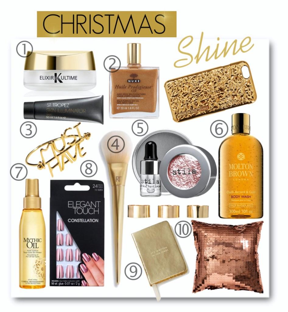 Christmas Shine Beauty Gift Ideas