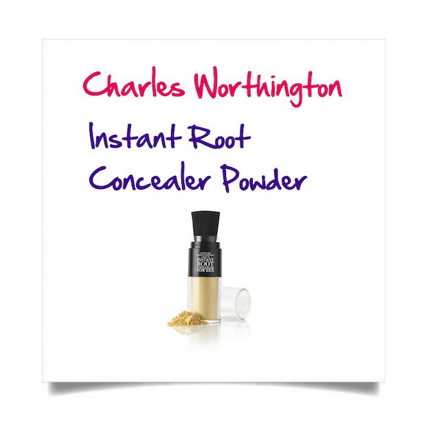 Charles Worthington Instant Root Concealer Powder Light Blonde