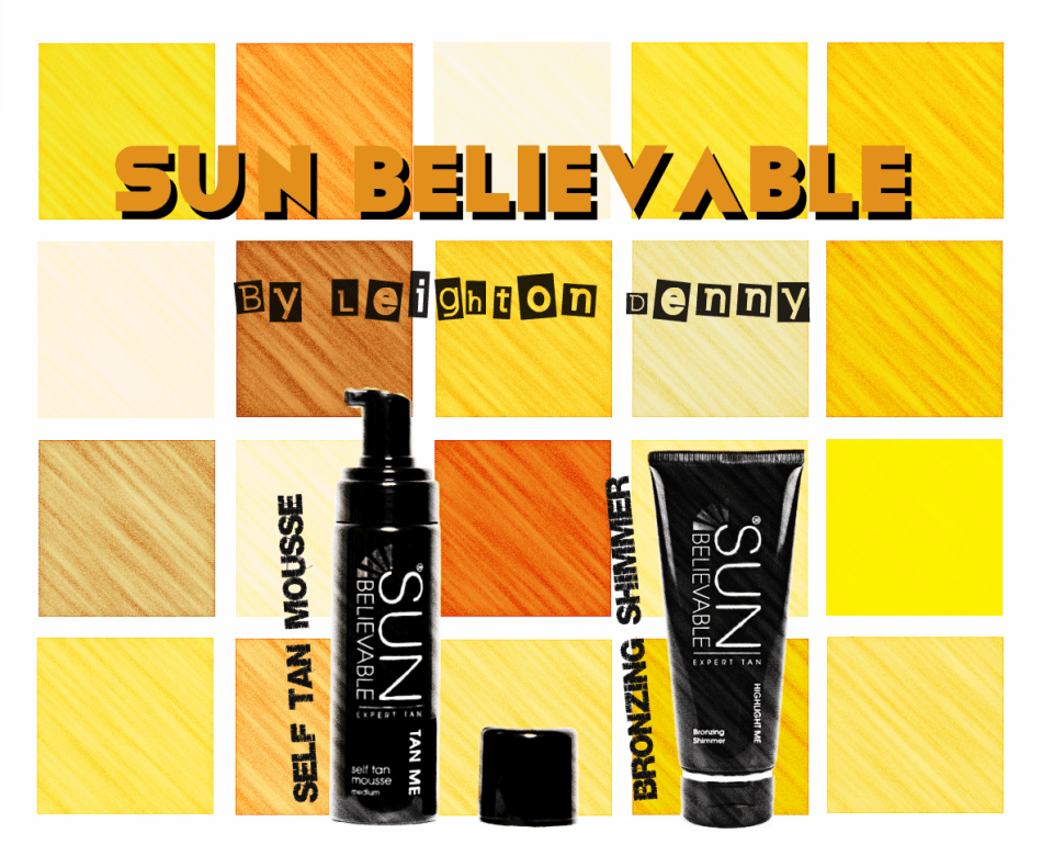 Sun-Believable Highlight Me Bronzing Shimmer & Tan Me Mousse