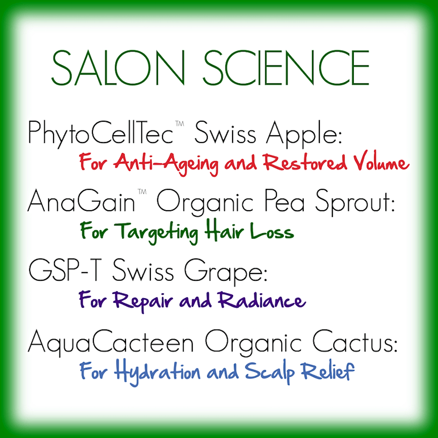 THE SALON SCIENCE® HAIRCARE RANGE